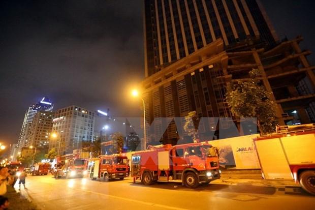 Presentan en Vietnam tecnologias inteligentes en proteccion contra incendios hinh anh 1