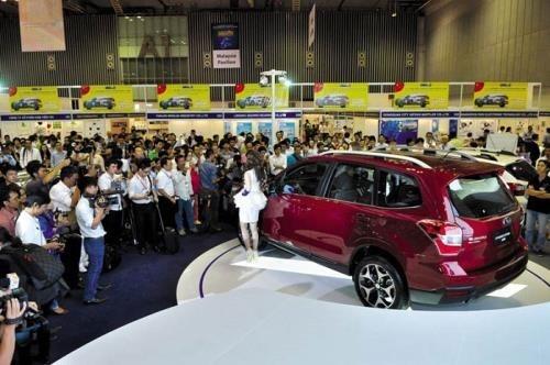 Inauguran en Vietnam exposicion internacional de automoviles e industria auxiliar hinh anh 1