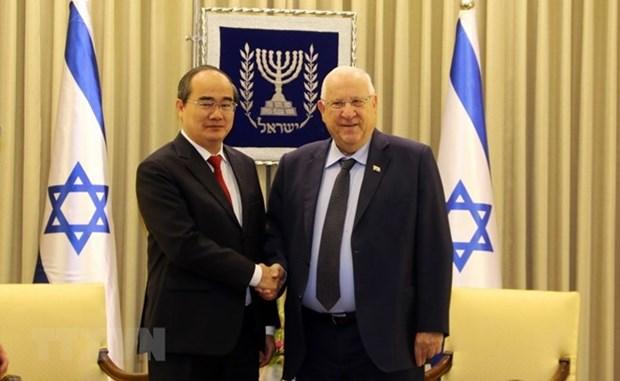 Ciudad Ho Chi Minh desea fomentar la cooperacion con Israel hinh anh 1