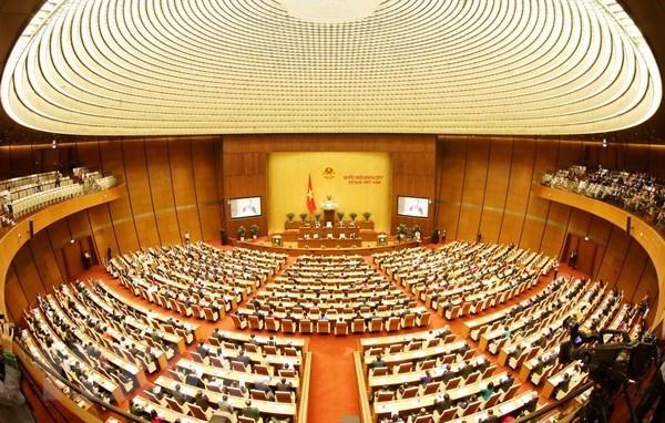 Parlamento de Vietnam debate borradores de Leyes sobre Denuncias y Competencia hinh anh 1