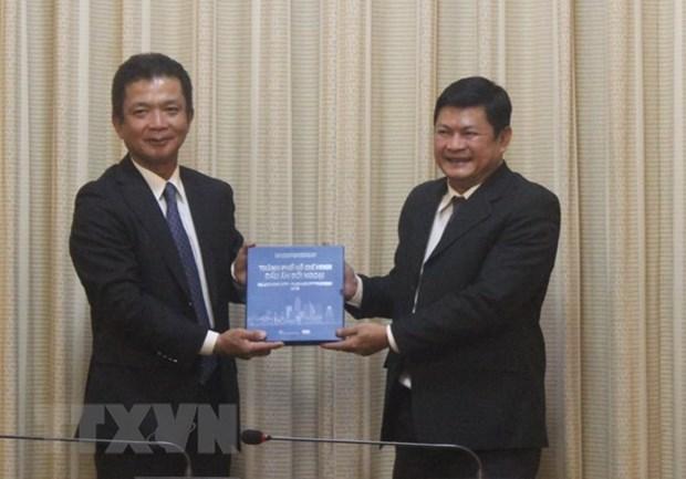 Dirigente de Ciudad Ho Chi Minh aboga por mayor inversion de Japon hinh anh 1