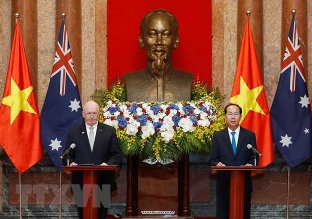Vietnam y Australia consolidaran la confianza politica, afirma Tran Dai Quang hinh anh 1