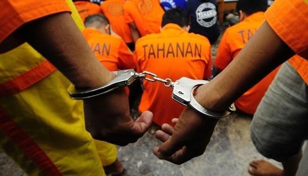 Indonesia construye celdas especiales para presos terroristas hinh anh 1