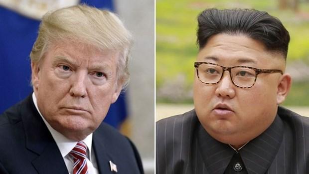 Funcionarios de Estados Unidos viajaran a Singapur para preparar proxima cumbre Trump-Kim hinh anh 1