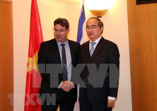 Ciudad Ho Chi Minh busca experiencia de Israel en construccion de urbe inteligente hinh anh 1