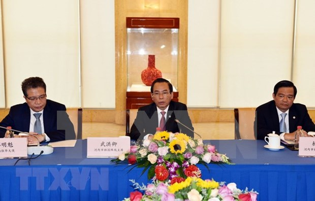 Hanoi impulsa cooperacion con Beijing y Shanghai de China hinh anh 1