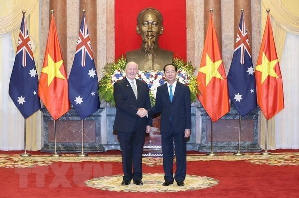 Australia aspira a profundizar la asociacion estrategica con Vietnam hinh anh 1