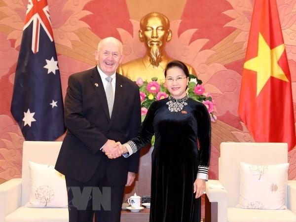 Parlamento de Vietnam apoya la asociacion estrategica con Australia hinh anh 1
