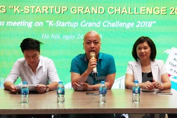 Celebraran en Vietnam competencia entre empresas emprendedoras hinh anh 1