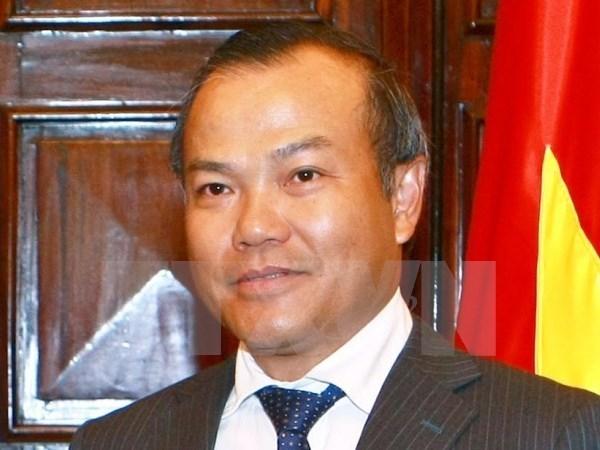 Botsuana desea cooperar con Vietnam en agricultura, tecnologia informatica y salud hinh anh 1