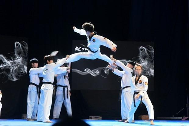 Inauguran en Vietnam Campeonato Asiatico de Taekwondo hinh anh 1
