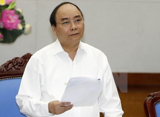 Premier vietnamita insta a trabajar para crecer 6,8 por ciento en 2019 hinh anh 1
