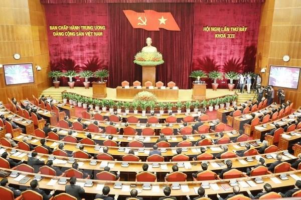 Emiten Resolucion del septimo pleno del Comite Central de PCV sobre politicas de seguro social hinh anh 1