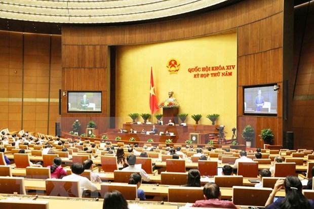 Aspectos socioeconomicos centran la agenda de la Asamblea Nacional de Vietnam hinh anh 1