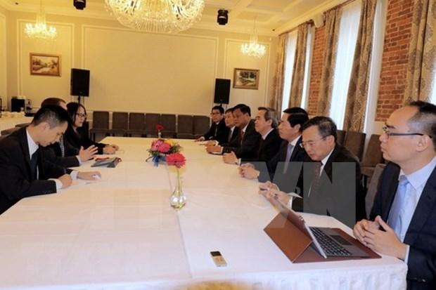 Vietnam se afirma su apoyo al libre comercio en Foro Economico Internacional de San Petersburgo hinh anh 1