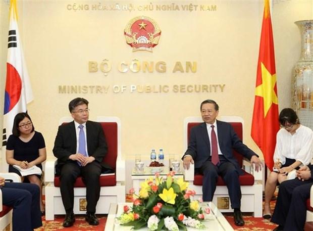 Vietnam y Sudcorea fortalecen cooperacion contra delincuencia hinh anh 1