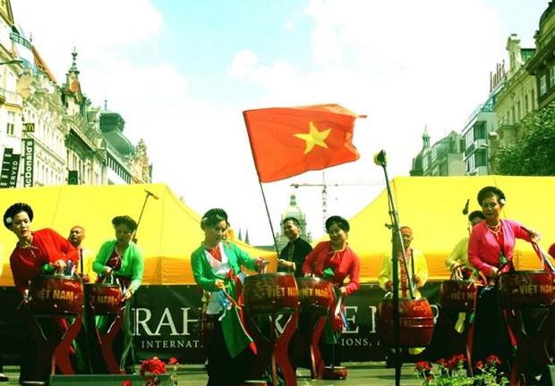 Cultura vietnamita impresiona en el Festival Internacional de Arte y Cultura de Praga hinh anh 1