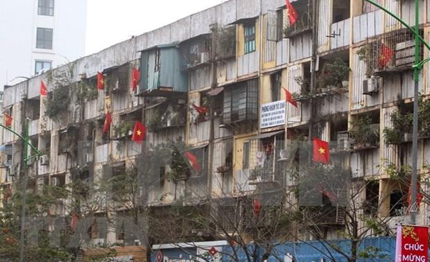 Rescate de edificios antiguos practicamente detenidos en Vietnam por multiples causas hinh anh 1