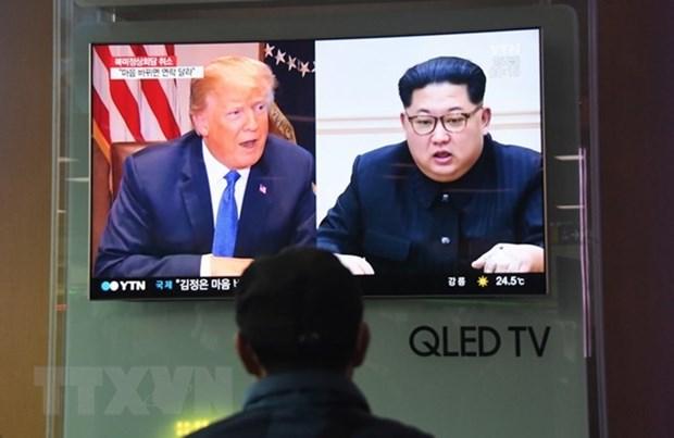 EE.UU enviara un equipo a Singapur para preparar cumbre entre Trump y Kim Jong-un hinh anh 1