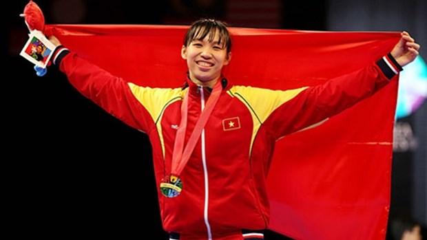 Taekwondista vietnamita gana titulo del campeonato asiatico hinh anh 1