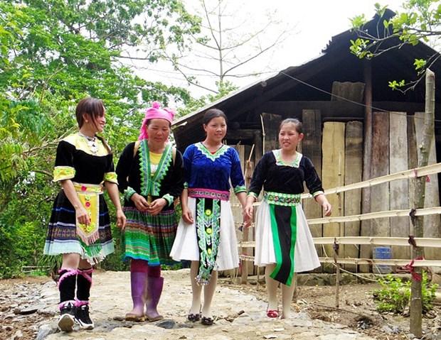 Gia Khau - una perla en el corazon de la provincia vietnamita de Lai Chau hinh anh 1