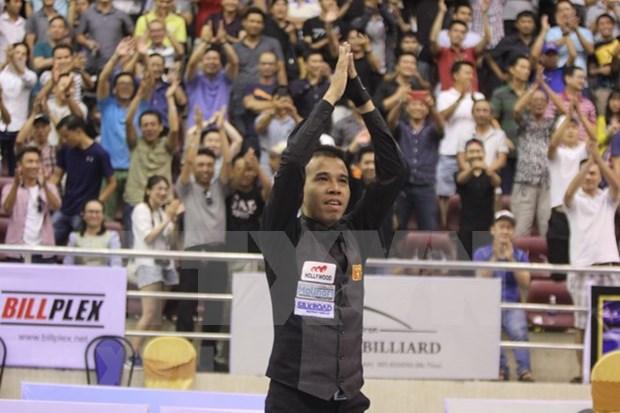 Billarista vietnamita logra oro en Torneo Internacional de Carambola tres bandas hinh anh 1