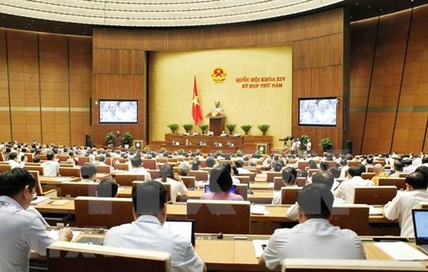 Parlamento de Vietnam analiza uso de bienes estatales en empresas hinh anh 1