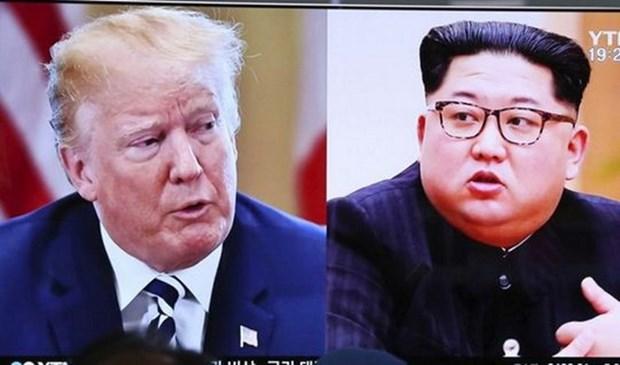 Corea del Norte y EE.UU. intercambian en Singapur sobre protocolo de cumbre hinh anh 1