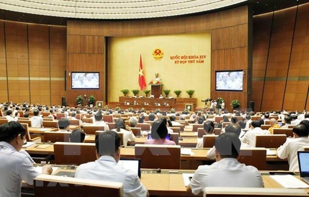 Parlamento de Vietnam concluye octava jornada de trabajo de su quinto periodo de sesiones hinh anh 1