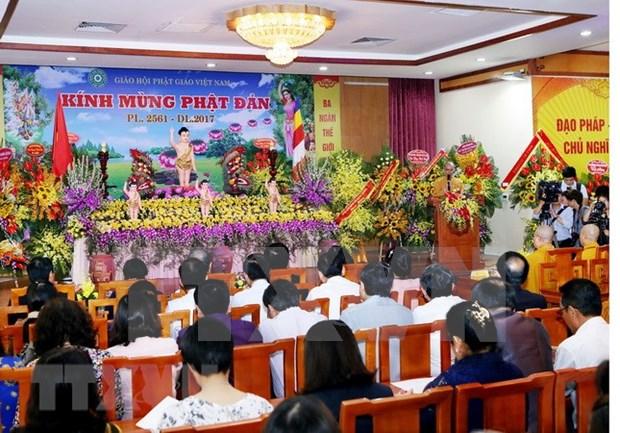 Localidades vietnamitas celebran Dia de Vesak hinh anh 1