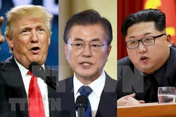 Llega a Singapur jefe de delegacion de negociaciones de Corea del Norte hinh anh 1