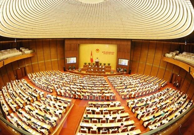 Parlamento de Vietnam continua quinto periodo de sesiones con revision de leyes hinh anh 1