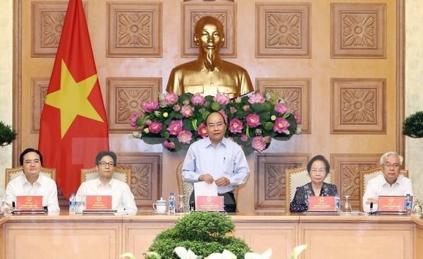 Mejoran la capacidad docente es crucial para las reformas educativas, afirma Premier vietnamita hinh anh 1