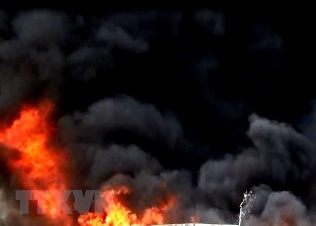 Indonesia: el incendio en internado mata a ocho personas hinh anh 1