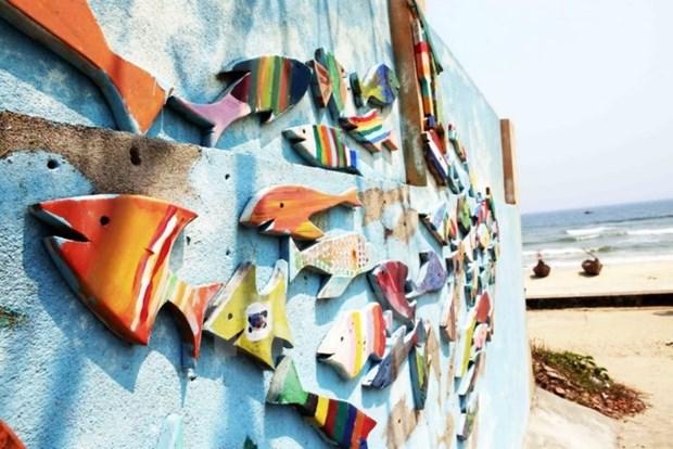 Inauguran mas de 30 murales de voluntarios sudcoreanos en provincia vietnamita hinh anh 1