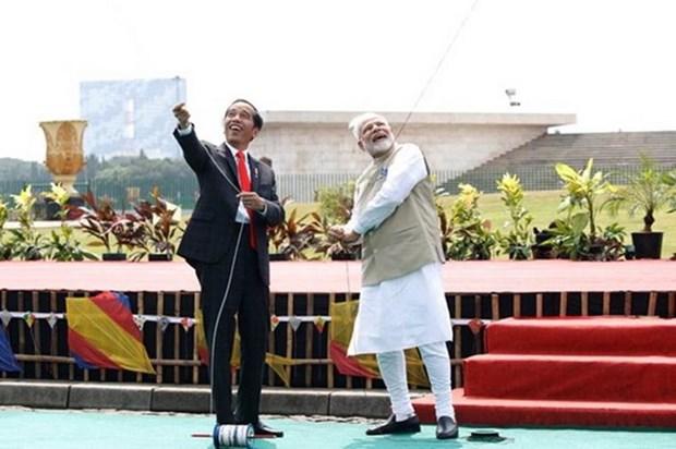 Indonesia e India establecen la Asociacion Estrategica Integral hinh anh 1