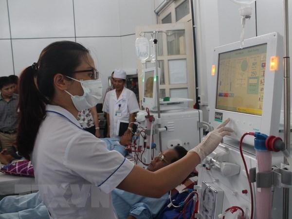 Alemania considera positivos resultados del entrenamiento de enfermeras vietnamitas hinh anh 1