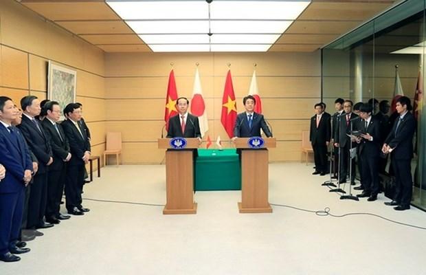Japon continuara apoyo al crecimiento sostenible de Vietnam hinh anh 1