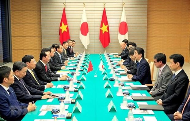 Vietnam y Japon apuestos por fortalecer nexos multifaceticos hinh anh 1