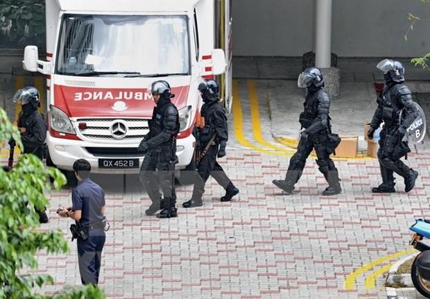 Singapur intensifica seguridad para Dialogo Shangri-La hinh anh 1