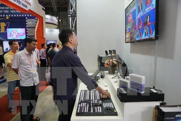 Presentaran en Vietnam ultimas tecnologias de industria cinematografica y televisiva hinh anh 1