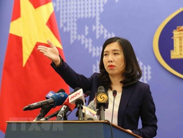 Vietnam condena violacion por China de su soberania maritima hinh anh 1