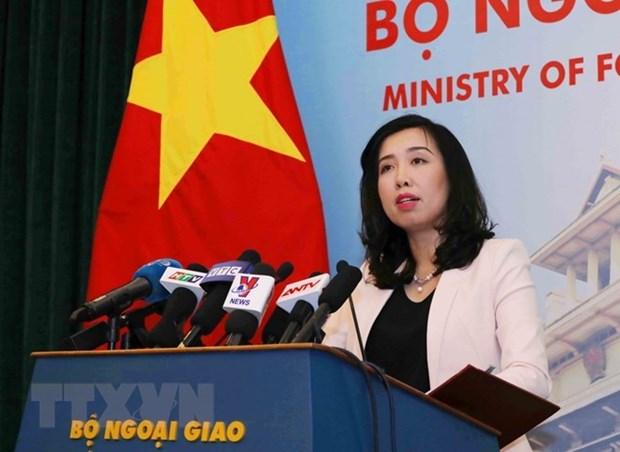 Vietnam respalda esfuerzos por la paz en la Peninsula de Corea hinh anh 1