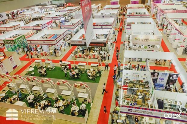 Ciudad Ho Chi Minh acoge exposiciones internacionales de bienes de consumo hinh anh 1
