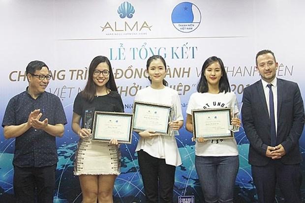 Jovenes emprendedoras vietnamitas reciben becas de estudio en Israel hinh anh 1