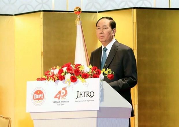 Presidente de Vietnam reconoce contribucion de la Union de Parlamentarios a nexos con Japon hinh anh 1