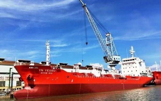 Vietnam entrega el primer barco carguero de seis mil 500 tonelada a Corea del Sur hinh anh 1