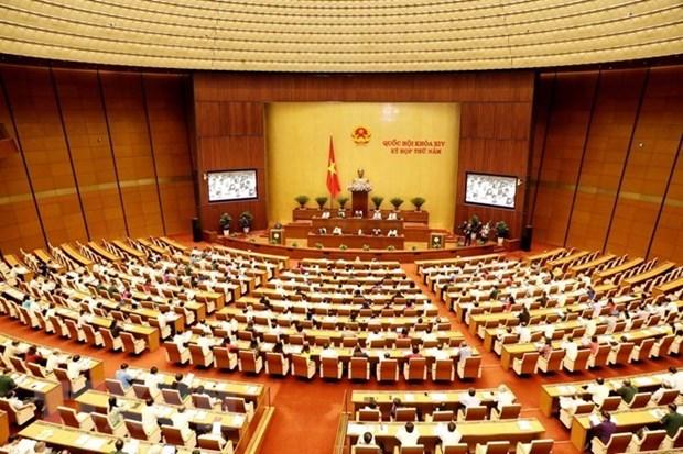 Parlamento de Vietnam revisara hoy enmienda a ley de planificacion hinh anh 1