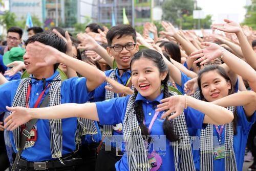 Lanzan en Vietnam Campana veraniega de Jovenes Voluntarios hinh anh 1