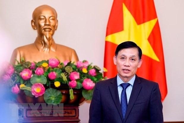 Visita de presidente Dai Quang abre nueva fase para relaciones Vietnam-Japon, segun vicecanciller hinh anh 1